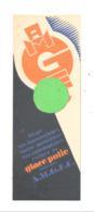 Marque-pages Publicitaire - Glace Polie A.M.G.E.C à Bruxelles - Librairie Demarteau à Liège (b260) - Marque-Pages