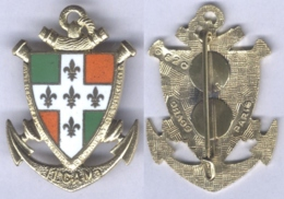 Insigne Du 11e Groupe D'Artillerie De Marine - Esercito