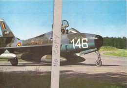 Republic F 84 F - Thunderstreak - Chasseur Bombardier - 1946-....: Ere Moderne