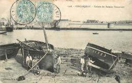 CONCARNEAU - Toilette Des Bateaux Concarnois. - Concarneau