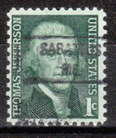 USA Precancel Vorausentwertung Preo, Locals Maine, Sabatus 841 - Vereinigte Staaten