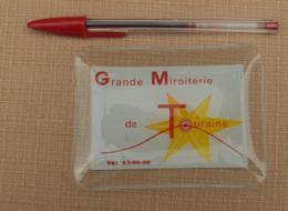 Objet Publicitaire 003, Cendrier Vide-Poche Grande Miroiterie De Touraine, Verre, Bon état, Frais De Port Au Tarif De La - Ashtrays