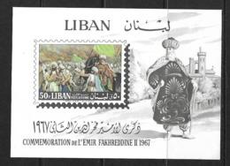 LIBAN 1968 EMIR FAKHREDDINE  YVERT N°B24 NEUF MNH** - Liban