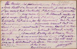 All009 Lesen Sie Unbedingt! Paris 23.04.1914 Humour Boche BLITZ BOMBEN UND GRANATEN ECLAIR FOUDRE BOMBE GRENADE - Humor