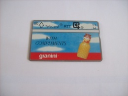 CARTES PRIVEES - N° 261  -   5 U   -  GRANINI  - Voir Photo ( 12 ) - Belgique