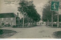 CHATILLON Sur LOIRE- L'Avenue De La Gare - Bon état - Chatillon Sur Loire