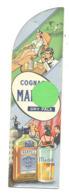 """Marque-pages Publicitaire - Cognac """" MARTELL """"  Cordon Bleu Et  Dry Pale - Alcool (b260) - Bladwijzers"""