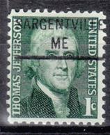 USA Precancel Vorausentwertung Preo, Locals Maine, Sargentaville 841 - Vereinigte Staaten