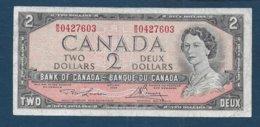 CANADA - Billet De 2 Dollars De 1954 - Canada