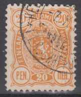 D9225 - Finland Mi.Nr. 30A O/used, Perf. 12 1/2 - 1856-1917 Russian Government