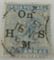 India Inde Victoria Used Stamp.2 Anna .India Postage - India (...-1947)