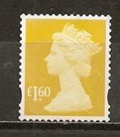 Grande-Bretagne Great Britain Machins 1.60p Obl - 1952-.... (Elizabeth II)