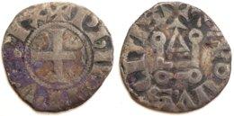 05-FRANCE MÉDIÉVALE - Philippe IV - Denier Tournois (Dup. 223 ; 0,95 G) - 1285-1314 Philippe IV Le Bel