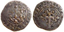 07-FRANCE MÉDIÉVALE - Philippe VI - Double Tournois (Dup. 271A ; 1,12 G) - 1285-1314 Philippe IV Le Bel
