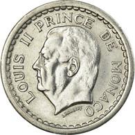 Monnaie, Monaco, Louis II, Franc, Undated (1943), SUP, Aluminium, Gadoury:MC131 - Mónaco