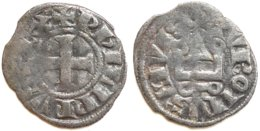 11-FRANCE MÉDIÉVALE - Philippe IV - Obole Tournois (Dup. 224 ; 0,54 G) - 987-1789 Monnaies Royales