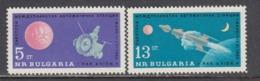 "Bulgaria 1963 - Space:  ""Mars 1"", Mi-Nr. 1366/67, MNH** - Bulgaria"