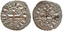 14-FRANCE MÉDIÉVALE - Philippe IV - Obole Bourgeoise (Dup. 233 ; 0,40 G) - 1285-1314 Philippe IV Le Bel