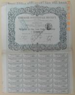 OBLIGATION - COMPAGNIE CONTINENTALE Des EAUX - Du 15 Mars 1880 - Acqua