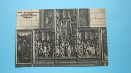 Gheel Het Passie Altaarblad ( St. Dymphna ) ( Photo J. Harts Uitg. ) Anno 19?? ( Zie Foto Detail ) ! - Geel