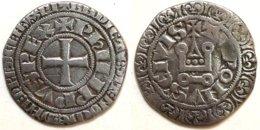 20-FRANCE MÉDIÉVALE - Philippe IV - Gros Tournois (Dup. 213C ; 3,12 G) - 987-1789 Monnaies Royales