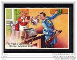 C   Est Ce Que Tu Apelles  ... Chasser ...  La Poule D  Eau - Illustrators & Photographers