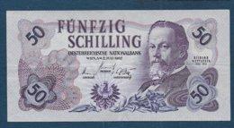 AUTRICHE - Billet De 50 Schilling De 1962 - Autriche