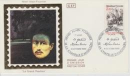 19 / 9 / 228  -  PREMIER  JOUR  - LE  GRAND  MAULNES   ( Avec  Timbre )  1986. - Stamp's Day