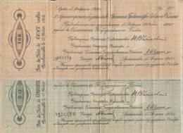 RUSSIE - 2 Billets  50 Et 100 Roubles De 1918 - Rusland