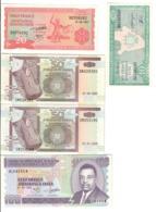 BURUNDI 5 Banconote 10 + 20 + 50 + 50 + 100 FRANCS  FDS  LOTTO 2768 - Burundi