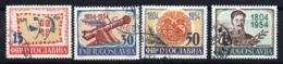 Serie Nº 656/9 Yugoslavia - 1945-1992 República Federal Socialista De Yugoslavia