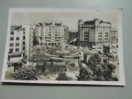 POLOGNE WARSZAWA VARSOVIE PLAC UNII LUBELSKIEF ZOSTAT ODBUDOWANY JUZ W R. 1947 VOIR VERSO - Polonia