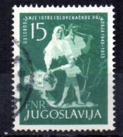 Sello  Nº 641  Yugoslavia - 1945-1992 República Federal Socialista De Yugoslavia