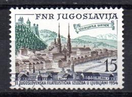 Sello  Nº 655   Yugoslavia - 1945-1992 República Federal Socialista De Yugoslavia