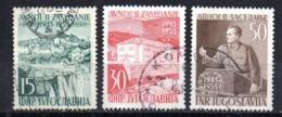 Serie   Nº 634/6   Yugoslavia - 1945-1992 República Federal Socialista De Yugoslavia