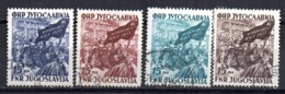 Serie   Nº 621/4   Yugoslavia - 1945-1992 República Federal Socialista De Yugoslavia