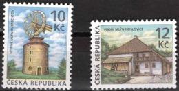 Czech Republic 2009 Architecture, Technical Monuments, Watermills, Windmills - Repubblica Ceca