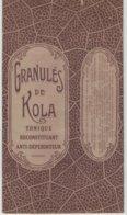 Boite Carton Pharmacie Herboristerie - Non Dépliée - Granulé De Kola - Matériel Médical & Dentaire