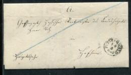 Thurn Und Taxis / 1855 / Brief K1 FUERTH I.O.WALD (24371) - Allemagne