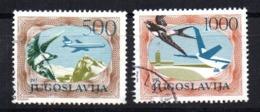 Serie   Nº A-59/60  Yugoslavia - Aéreo