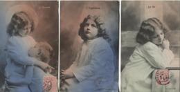 CPA - FANTAISIE - LOT De 3 Vues - ENFANTS Mis En Scène - Edition R.P.M - Scènes & Paysages
