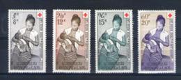 Laos. Poste Aérienne. Croix Rouge - Laos