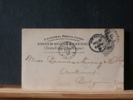 A10/539 CP USA VERSO PIQUAGE  PRIVE  1900 - Interi Postali
