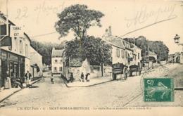 SAINT NOM LA BRETECHE - La Vieille Rue Et Ensemble De La Grande Rue. - St. Nom La Breteche