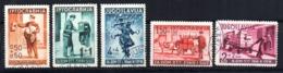 Serie   Nº 370/4  Yugoslavia - 1931-1941 Reino De Yugoslavia