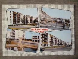 JOUÉ LES TOURS  (37). MULTIVUES. ANNEE 1974.TBE. - Cartes Postales