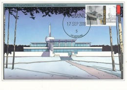 D38232 CARTE MAXIMUM CARD FD 2018 NETHERLANDS - SANATORIUM ZONNESTRAAL HILVERSUM CP ORIGINAL - Hydrotherapy
