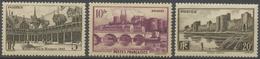 Série Des Monuments Et Sites. N°499 à 501 Neuf Luxe ** Y501S - Nuovi