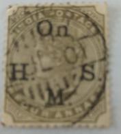 India Inde Victoria Used Stamp..4  Anna ...India Postage - India (...-1947)