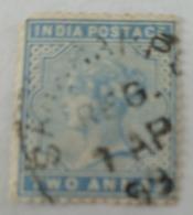 India Inde Victoria Used Stamp..2   Anna ...India Postage - India (...-1947)